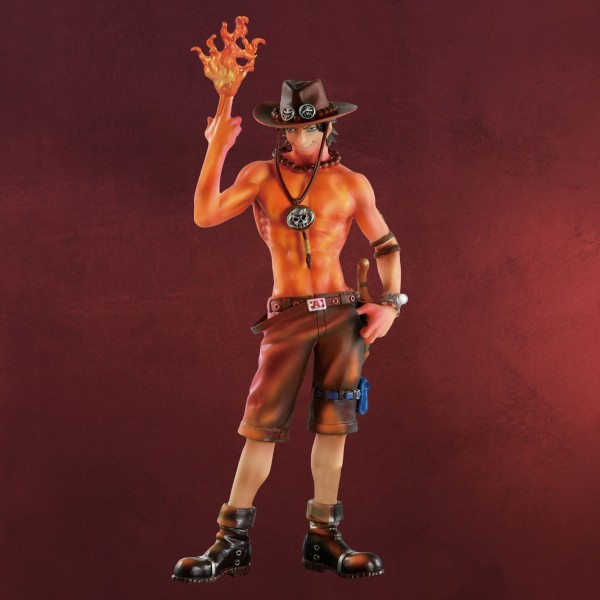 One Piece - Portgas D. Ace Burning Color Figur