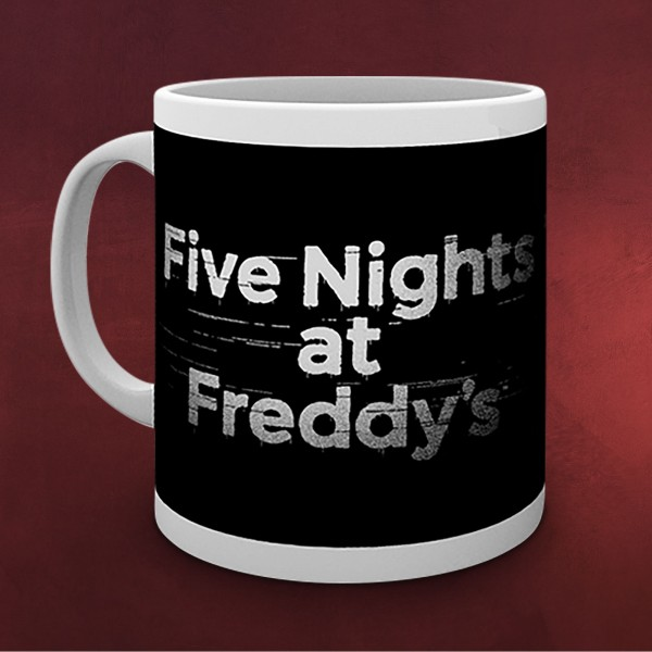 Five Nights at Freddys - Logo Tasse