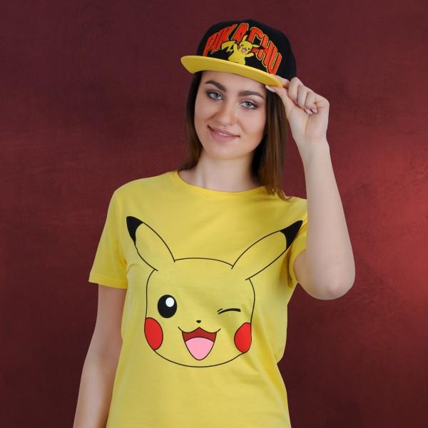 Pokemon - Pikachu Snapback Cap schwarz