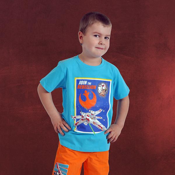LEGO Star Wars - Join The Rebellion T-Shirt für Kinder türkis