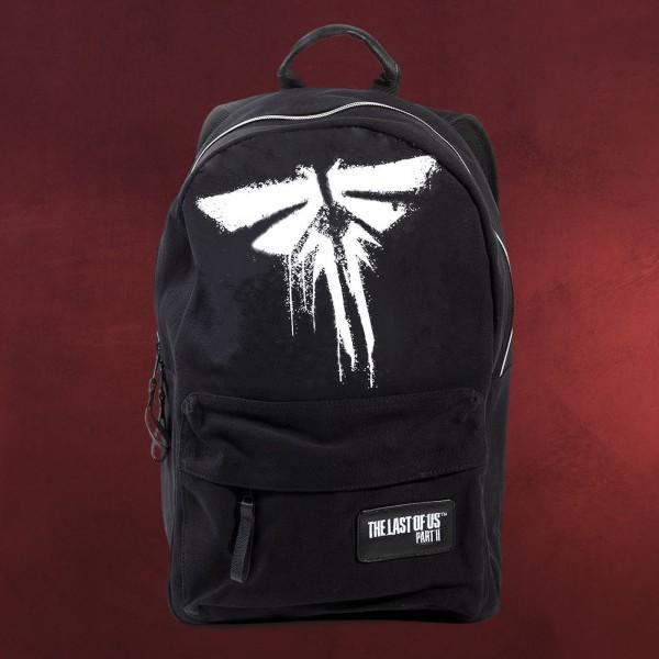 The Last of Us - Fireflies Logo Rucksack schwarz
