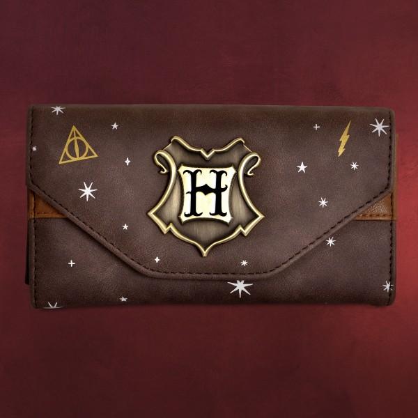 Harry Potter - Hogwarts Metall Wappen Geldbörse