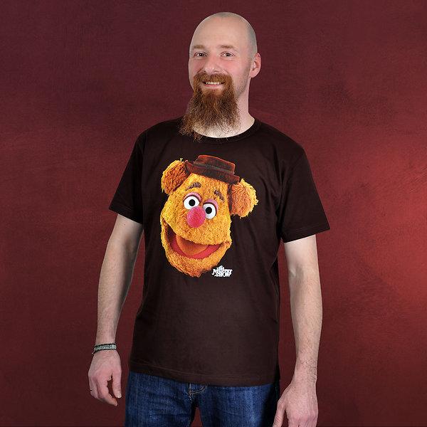 Muppets - Fozzie T-Shirt braun