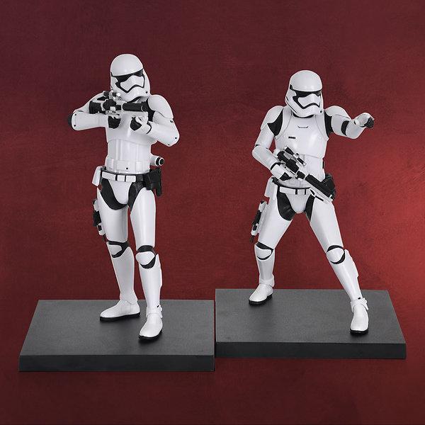Star Wars - First Order Stormtrooper Sammler Figuren 1:10 2er Set