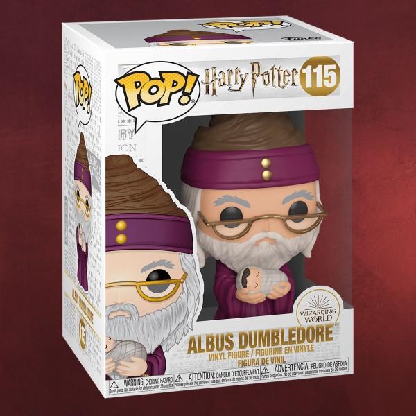 Harry Potter - Dumbledore mit Baby Harry Funko Pop Figur