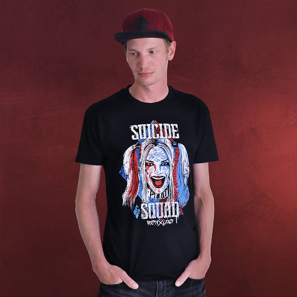 Suicide Squad - Harley Quinn T-Shirt schwarz