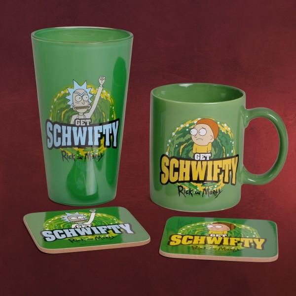 Rick and Morty - Get Schwifty Geschenkset