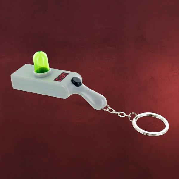 Rick and Morty - Portal Gun Schlüsselanhänger mit Projektion