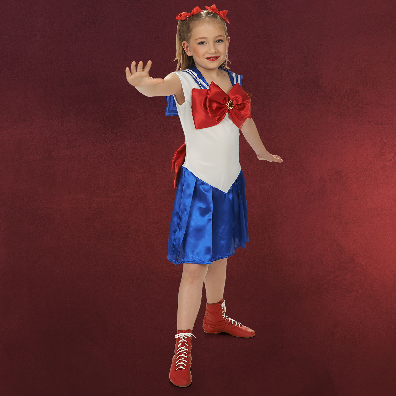 Sailor Girl Kleid Kinder Kostüm Sailor Moon Elbenwald