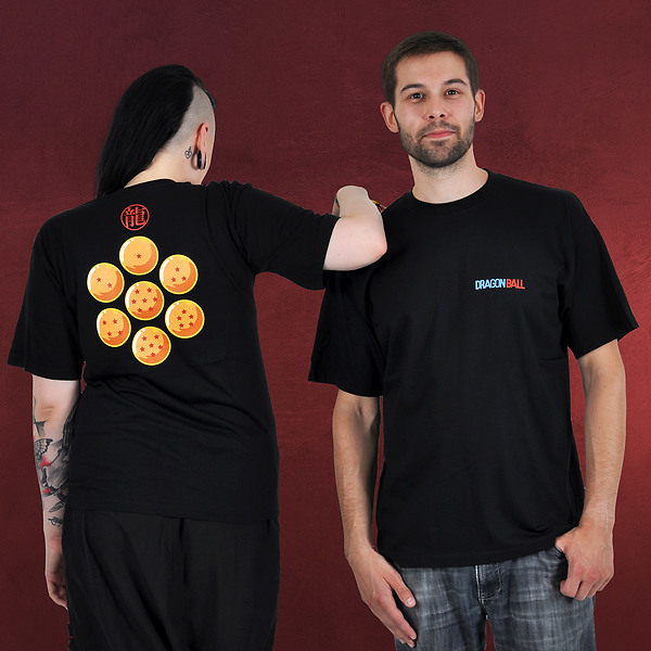 Dragon Ball - Dragon Pearls T-Shirt schwarz