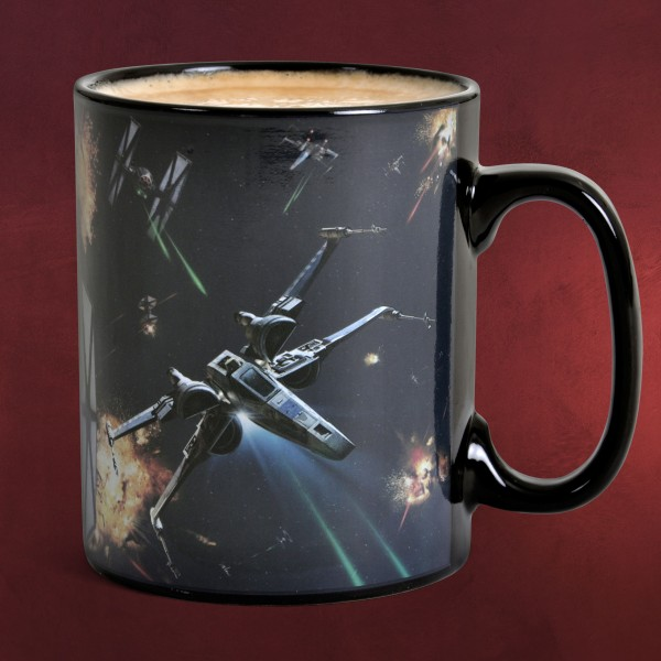 Star Wars - Space Battle Thermoeffekt Tasse