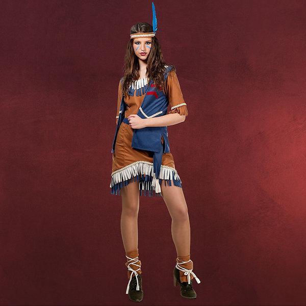 Sexy Indianerin - Kostüm Damen