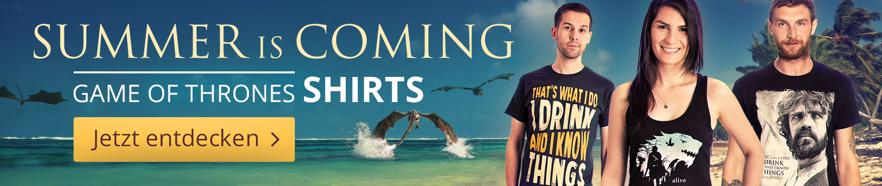 Summer is Coming: Game of Thrones - T-Shirts