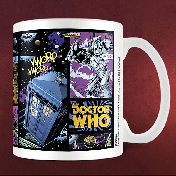 Doctor Who - Comic Strip Tasse