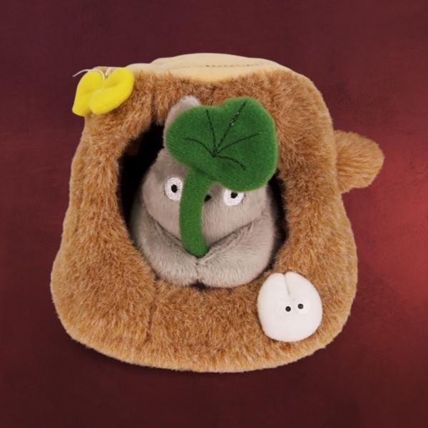 Totoro - Plüsch Figur mit Baumstamm