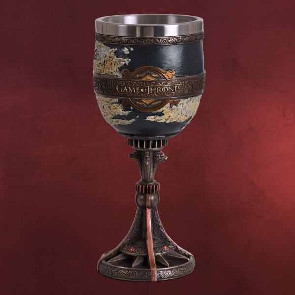 Game of Thrones - Westeros und Essos Kelch deluxe