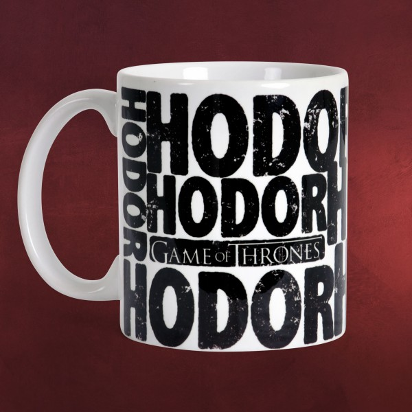 game of thrones hodor tasse elbenwald. Black Bedroom Furniture Sets. Home Design Ideas