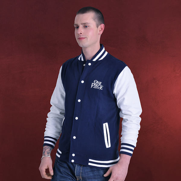 One Piece - Strohhut Crew College Jacke