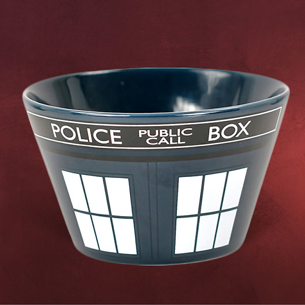 Doctor Who - Tardis Müslischale