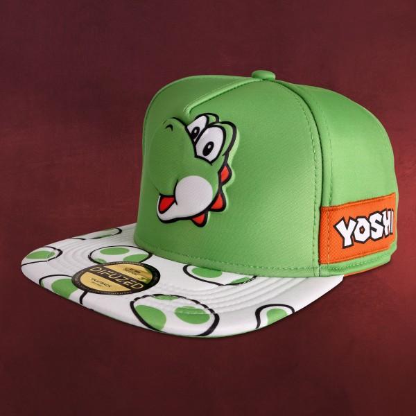 Super Mario - Yoshi Snapback Cap