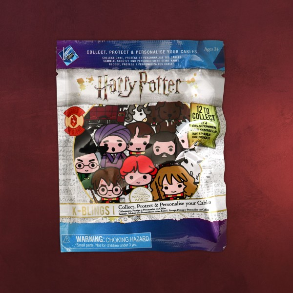 Harry Potter - Handy Kabelschutz K-Bling Mini Figur