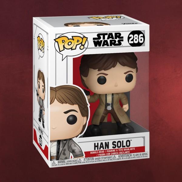 Star Wars - Han Solo Endor Funko Pop Wackelkopf-Figur