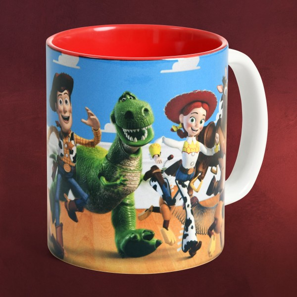 Toy Story - Character Collage Tasse