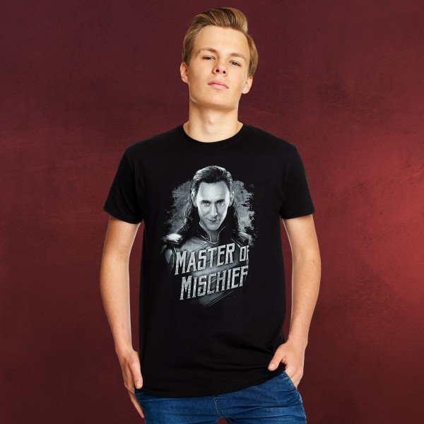 Loki - Master of Mischief T-Shirt schwarz