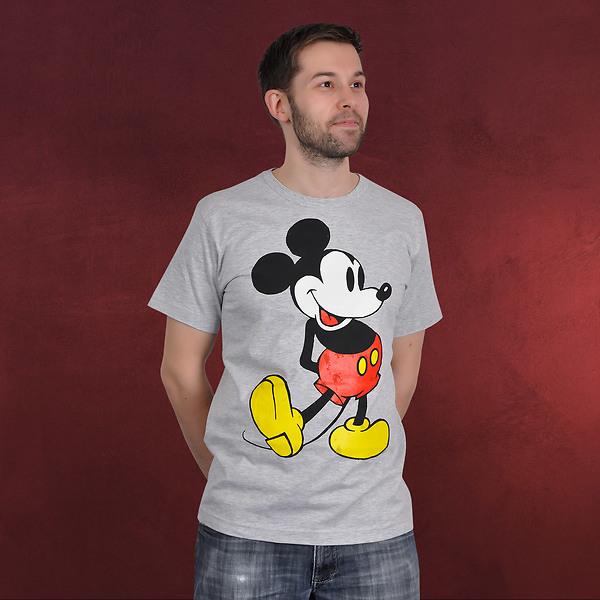 Disney - Mickey Mouse T-Shirt grau