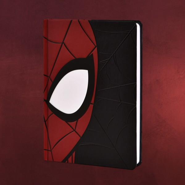 Spider-Man - Face Notizbuch A5