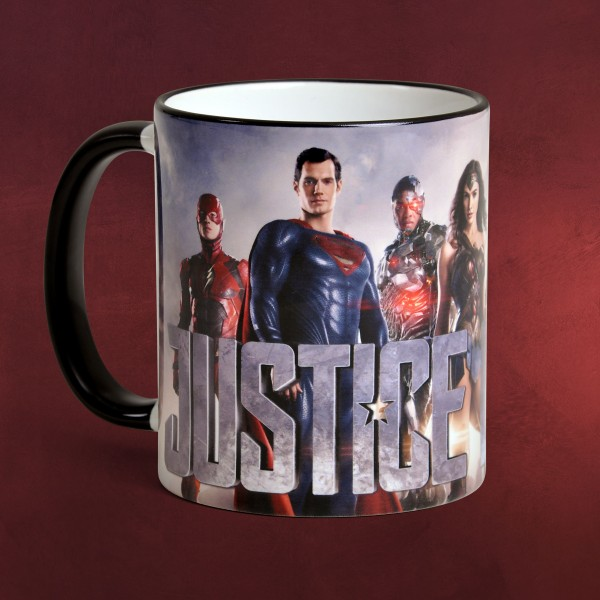Justice League - Collage Tasse