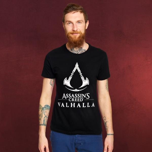 Assassin's Creed - Valhalla Logo T-Shirt schwarz