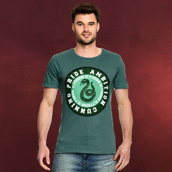 Harry Potter - Slytherin Values T-Shirt grün