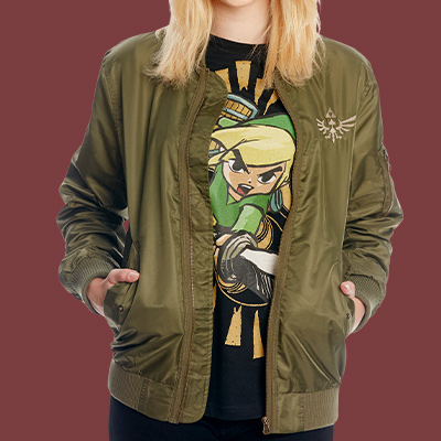 Zelda - Skyward Sword Bomberjacke