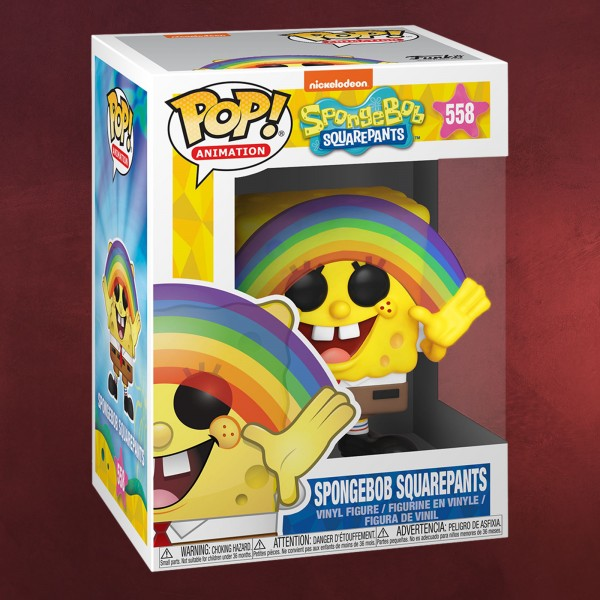 SpongeBob - Rainbow Funko Pop Figur