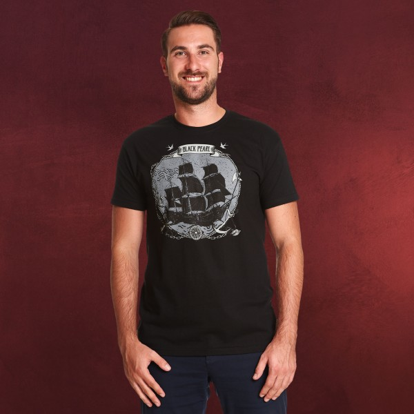 Fluch der Karibik - Black Pearl T-Shirt schwarz