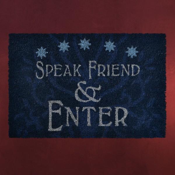Herr der Ringe - Speak Friend & Enter Fußmatte