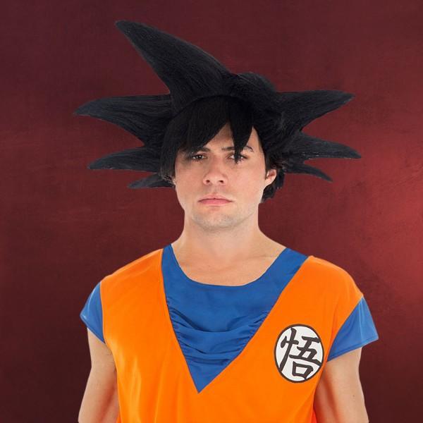 Dragon Ball - Goku Sayajin Perücke schwarz