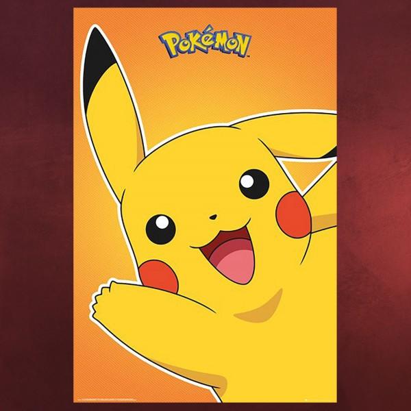 Pokemon - Pikachu Maxi Poster