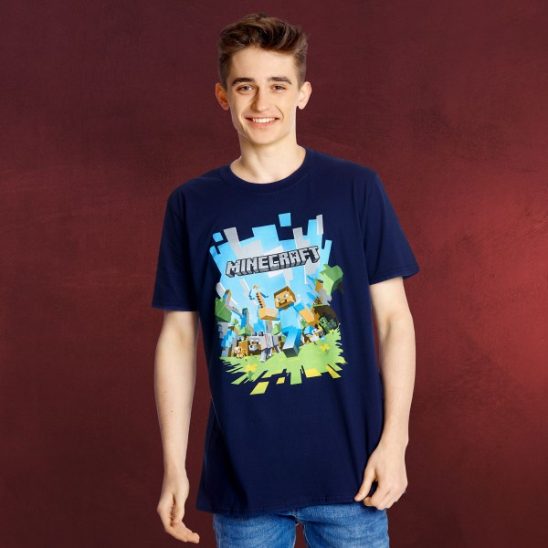 Minecraft - Adventure T-Shirt Herren