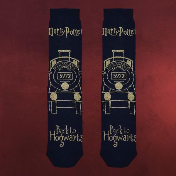 Harry Potter - Hogwarts Express Glitzer Socken