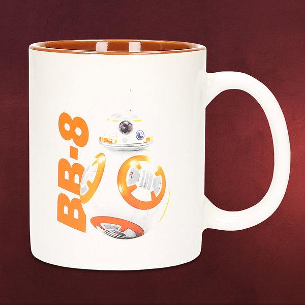 Star Wars - BB-8 Droiden Tasse weiß orange