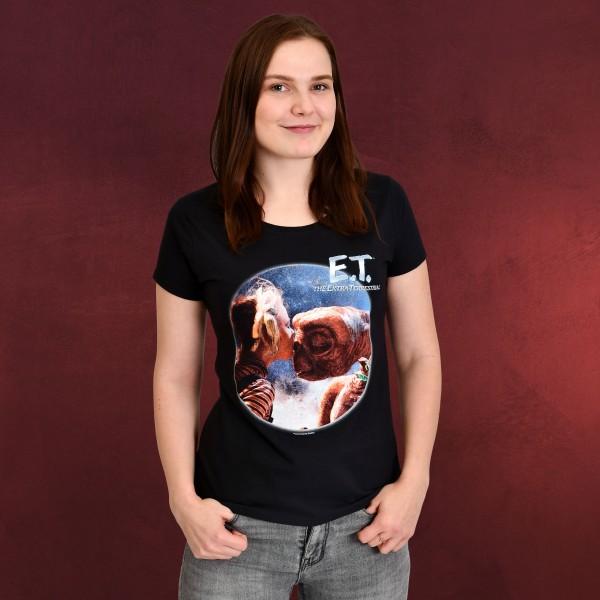 E.T. und Gertie T-Shirt Damen schwarz