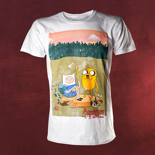 Adventure Time Finn Und Jake T Shirt Elbenwald