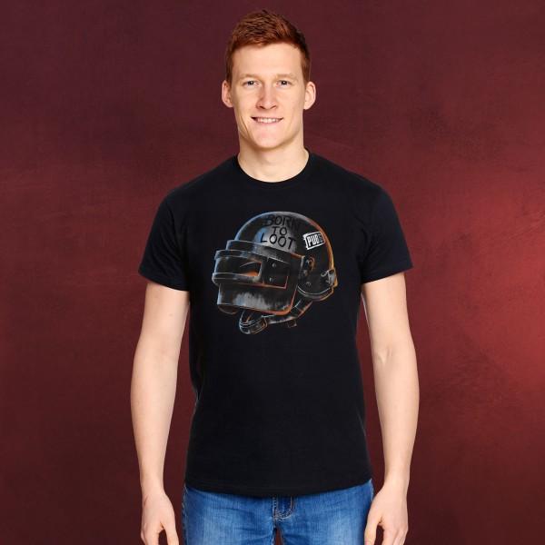 PUBG - Born to Loot T-Shirt schwarz