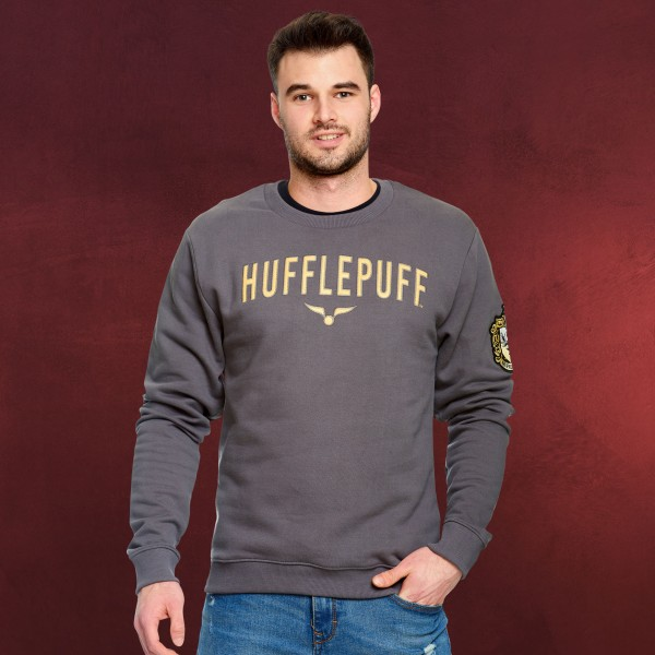 Harry Potter - Team Hufflepuff Sweater grau