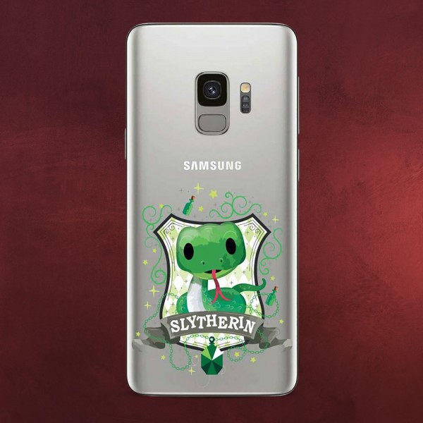 Harry Potter - Magical Slytherin Samsung Galaxy S9 Handyhülle Silikon transparent