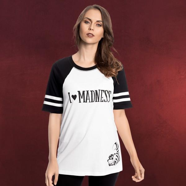 Alice im Wunderland - Madness T-Shirt Damen weiß