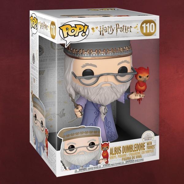 Albus Dumbledore mit Fawkes Funko Pop Figur 25 cm - Harry Potter