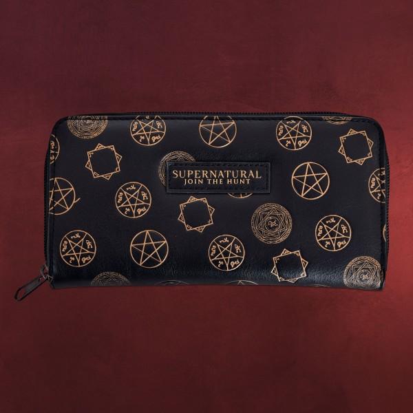 Supernatural - Symbols Geldbörse schwarz